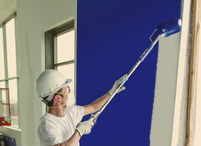 spray paint decorators spray ceilings walls haywood coatings