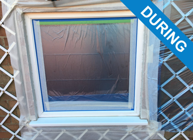 Spraying Window Frames - Spray Paint Double Glazed Windows | HC Ltd